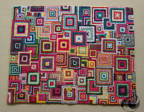 Come Along To Cheeky Sew And Sew And Learn To Make A Unique Handcrafted Rag  Rug From Fabric Scraps. Rag Rug Making Course: Learn The Basics Of Prodding  A ...